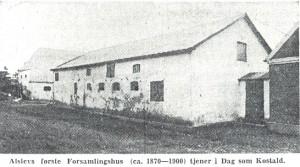 Billed Forsamlingshus 1870-1900