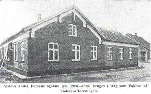 Billed Forsamlingshus 1900-1935