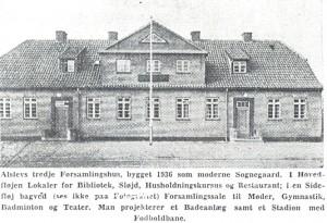 Billed Forsamlingshus 1936